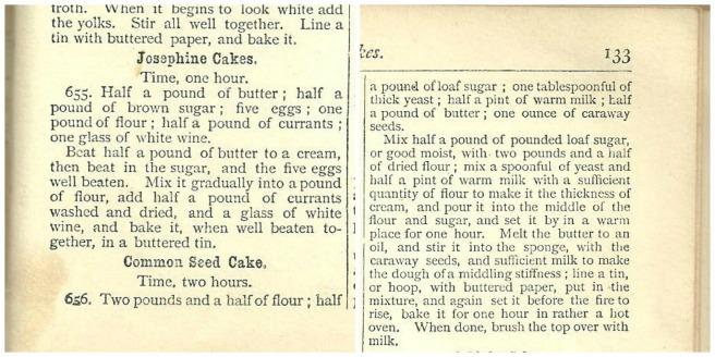 seed cake recipe