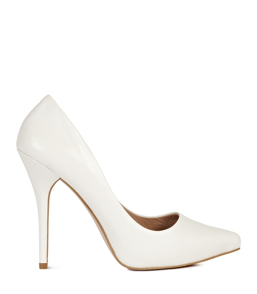 white-stiletto-heel